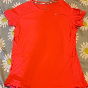 Hot Pink Nike Running Top